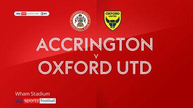Accrington 1-4 Oxford Utd