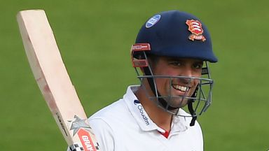 Cook completes century in final