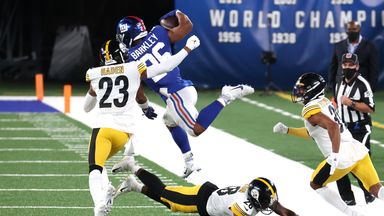 Steelers stifle Giants with dominant defence