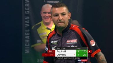 Aspinall hits second 170 of Night 16!