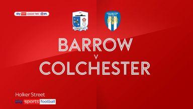 Barrow 1-1 Colchester