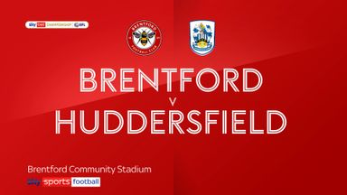 Brentford 3-0 Huddersfield