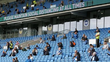 PL 'disappointed' at return of fans delay
