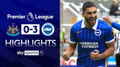 Maupay double helps Brighton thrash Newcastle