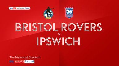Bristol Rovers 0-2 Ipswich