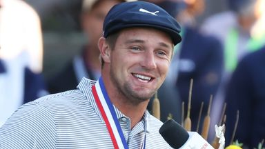 DeChambeau delighted with US Open win