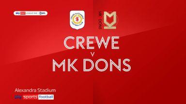 Crewe 2-0 MK Dons