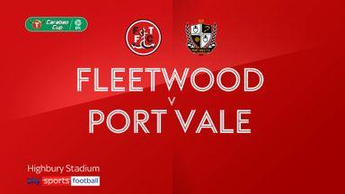 Fleetwood 2-1 Port Vale