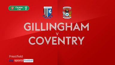 Gillingham 1-1 Coventry  (5-4 pens)