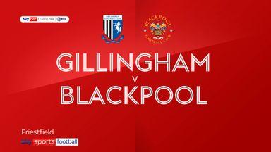 Gillingham 2-0 Blackpool