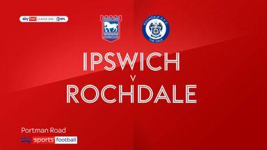 Ipswich 2-0 Rochdale