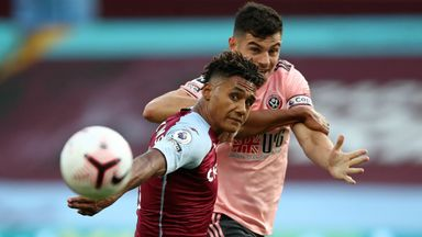 HT Aston Villa 0-0 Sheffield Utd