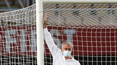 Jose: The goals were 5cm too small!