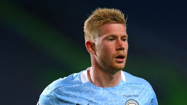 De Bruyne ruled out of Arsenal showdown