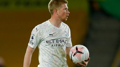 Carra: De Bruyne the best after Messi and Ronaldo