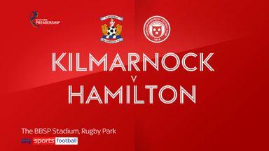 Kilmarnock 2-1 Hamilton