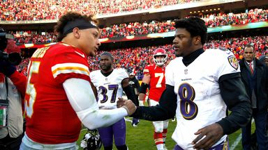 Mahomes can't wait for Jackson contest