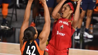 WNBA SF Gm 4: Aces 84-75 Sun