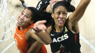 WNBA SF Gm 5: Sun 63-66 Aces