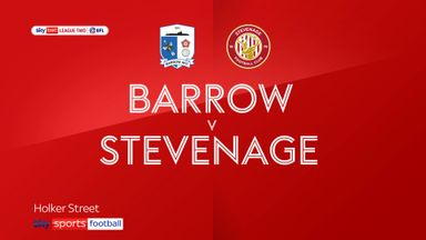 Barrow 1-1 Stevenage