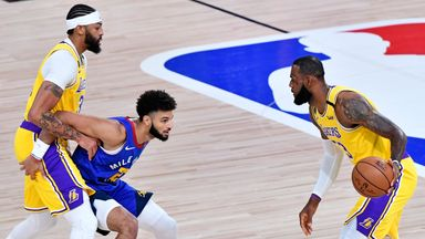 Gm 1: Nuggets 114-126 Lakers