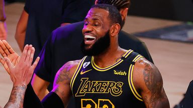 LeBron scores 26 in Lakers' Game 2 win
