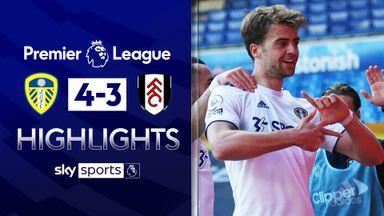 Leeds edge Fulham in seven-goal thriller