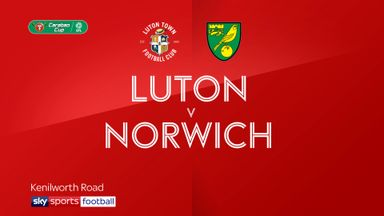 Luton 3-1 Norwich