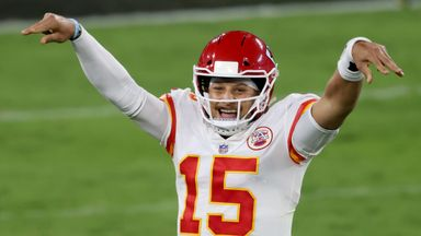 Mahomes downs Ravens with 5 TD's