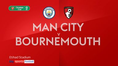 Man City 2-1 Bournemouth