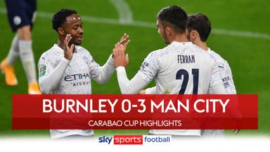 Burnley 0-3 Man City