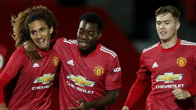 Man United youngsters thrash Salford