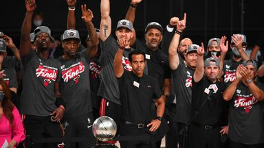 Heat celebrate as Eastern Conference champions