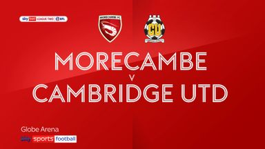 Morecambe 0-5 Cambridge