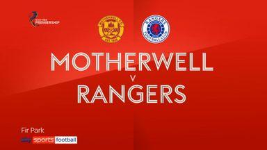 Motherwell 1-5 Rangers