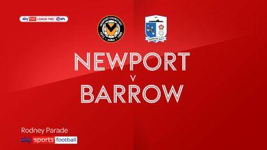Newport 2-1 Barrow