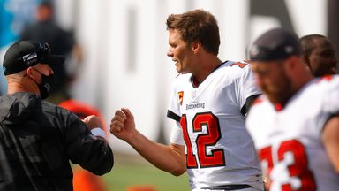 Brady wins for first time with Bucs