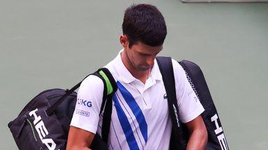 'Umpire had no choice but to default Djokovic'