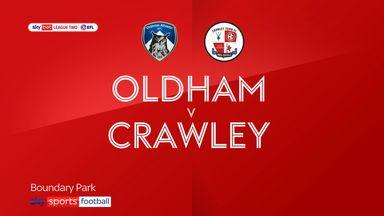 Oldham 2-3 Crawley