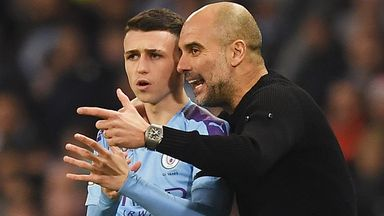 Foden: Pep has been patient with me
