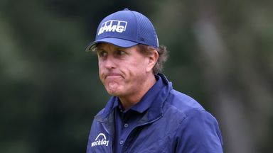 Mickelson concerned by fans' return in Houston