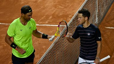 Nadal crashes out of Italian Open