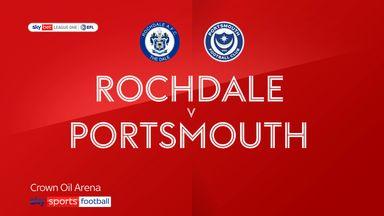 Rochdale 0-0 Portsmouth
