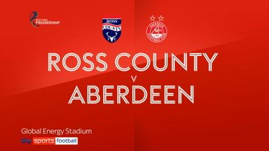 Ross County 0-3 Aberdeen