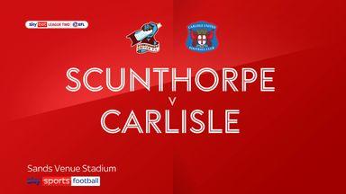 Scunthorpe 1-0 Carlisle