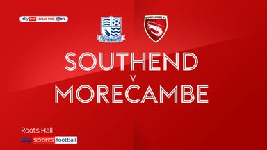 Southend 1-2 Morecambe
