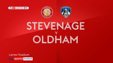 Stevenage 3-0 Oldham