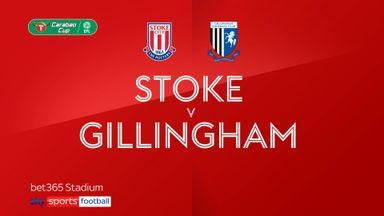 Stoke 1-0 Gillingham