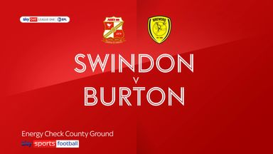 Swindon 4-2 Burton