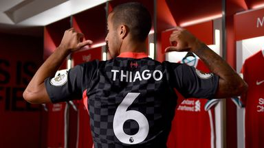 Liverpool sign Thiago